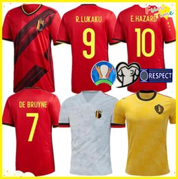 entrenamiento de sombrero negro Rebajas 2020 Bélgica hogar lejos Lukaku PELIGRO KOMPANY De Bruyne MERTENS camiseta de fútbol 2019 Hombre adulto y los niños camiseta de fútbol kit deportivo