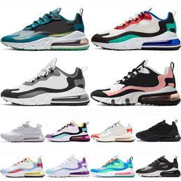 nike air max 270 react shoes Designer Reagieren Schuhe Herren Laufschuhe Frauen Sea Green Bauhaus Dämmerung Lila Blass Coral Trainer Sports Triple