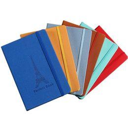 Канцелярский набор онлайн-Эластичная лента PU ноутбук классические ноутбуки журнал качество бумаги Блокнот личный дневник школа канцелярские товары