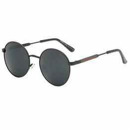 2019 gafas de sol jawbreaker con caja Lujo-Alta calidad Classic Pilot Sunglasses Designer Brand Hombres Mujeres Gafas de sol Gafas Metal Glass Lenses