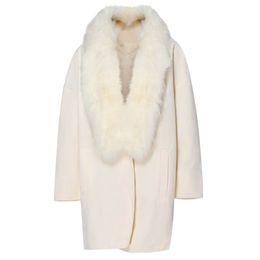 Женщины шерсть пальто воротник плюс размер теплый свободные шерстяные пальто куртка Зимова дамска РОПа mujer invierno 2018 #4D10 #F supplier ropa mujer plus от Поставщики ropa mujer plus