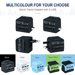 Canada Prise de courant multifonction UK US EU Type AUS se branche 3USB pour un chargeur plus fort portable Offre