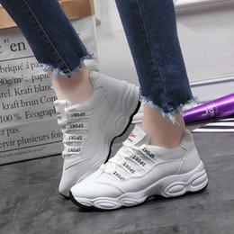 2020 koreanische weiße turnschuhe Charm2019 Exceed Fire Chic Sneakers Koreanische Erhöhung Kleine Weiße Freizeitschuhe Freizeitschuhe Ebbe rabatt koreanische weiße turnschuhe
