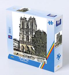 cuentas de hama 5mm Rebajas Puzzle en blanco para Notre Dame DE Paris XU JING QUAN Puzzle grande 300 PCS Juguetes para niños Regalo Hecho por el cliente