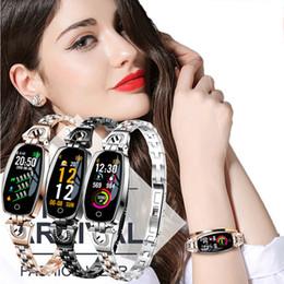 2019 женские спортивные часы шагомер Smart Watch Women Girl Crystal  Pedometer Sport SmartWatch Bracelet Heart Rate Monitor Waterproof Watches For Android iOS скидка женские спортивные часы шагомер