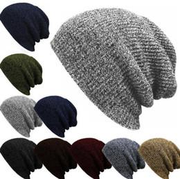 0963ec13bdc caps hats states Australia - Explosion hat autumn and winter striped  headgear men and women warm