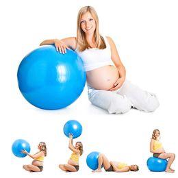 (A366X) Yoga Ball 65/75 / 85cm Esercizio Gymnastic Gym Fitness Pilates Balance Balance Air Pump da regali ginnastici fornitori