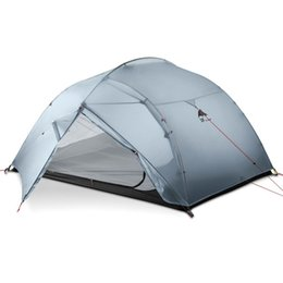 сверхлегкие палатки для альпинизма Скидка DHL freeshipping 3F UL GEAR 3 человек 4 сезон 15D кемпинг палатка открытый сверхлегкий туризм рюкзак охота водонепроницаемые палатки