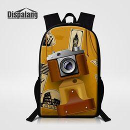 b553a20999 Borsa per zaino da scuola di stampa fotografica di moda per ragazzo da 16  pollici Borsa da scuola per studente di scuola primaria borse scolastiche  primarie ...
