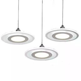 Argentina : Lámpara colgante de cristal de la araña del restaurante Modenr Tres mesas simples redondas LED Cocina Bar Comedor Comedor Lámparas de araña Iluminación para el hogar supplier three light pendants Suministro