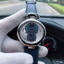 2020 relogios automáticos exclusivos Único homens de luxo relógios de grife azul da correia verdadeira automática movimento mecânico de corda automática relógios de pulso orologio di lusso relogios automáticos exclusivos barato