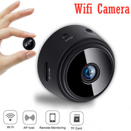 2020 gravador de vídeo micro sem fio A9 Wifi Mini Camera Wireless Home Security Camera WiFi P2P Micro Camcorder Video Recorder Suporte Remoto PK SQ11 gravador de vídeo micro sem fio barato