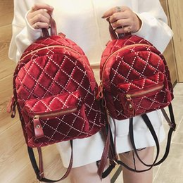 Fashion Women Backpack 2019 Winter New School Backpacks Women Backpack  Designers Brand For Teenage Girl Quality Travel Rucksack 84c9886361172