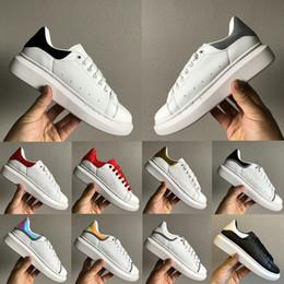 Cauda de sapato on-line-Top mens sapatos de grife 3 M reflexivo iridescente triplo branco preto cauda prata homens mulheres moda sapatos casuais size36-44