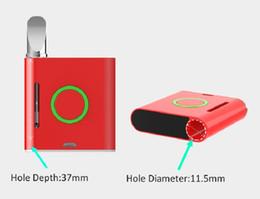 ego t clearomizers Promotion VapMod Original Vmod 900mAh Batterie de préchauffage Boîte VV Mod diamètre 11.5mm pour 510 fil épais Wax Oil Wax Réservoir de cartouche