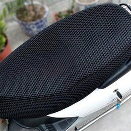 melhor guitarra elétrica de mogno Desconto À prova de sol 3D Da Motocicleta scooter de bicicleta elétrica protetor solar tampa de assento Evitar scooter protetor solar Almofada de Isolamento térmico proteger