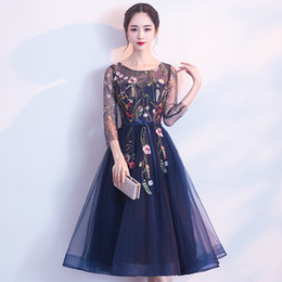 5a2fd876b837a Marque Floral Court Cheongsam Sexy Broderie Qipao Femmes Chinois  Traditionnel Robe De Style Oriental Robes Robe Robe Longue Chinoise peu  coûteux robes de ...