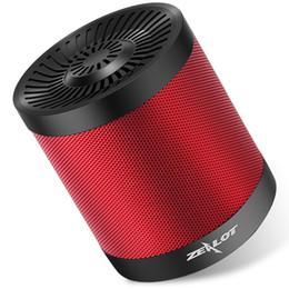 Canada ZEALOT S5 Portable Bluetooth Haut-parleur Colonne Subwoofer Sans Fil Super Bass Stéréo USB TF Carte Jouer Avec Microphone supplier bluetooth speakers microphone Offre