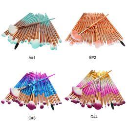conjunto de pincel sgm Desconto Diamante Brushes Set Pó Foundation Blush Blending Sombra de Olho Lip Cosméticos Beleza Make Up Brush Beleza