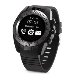 Мужские наручные часы онлайн-Смартфоны сим-карты с сенсорным экраном для взрослых Открытый смарт-часы браслет с 0,3-мегапиксельной камерой для системы Android Smart Watch vs dz09