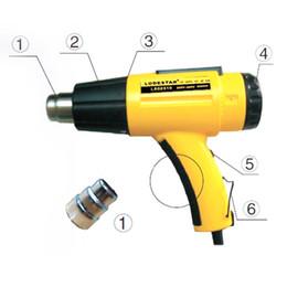 herramientas smd Rebajas LODESTAR Heat Gun2000W Pistola de aire caliente eléctrica Temperatura controlada IC SMD Calidad Herramientas de soldadura ajustables + pistola de boquilla