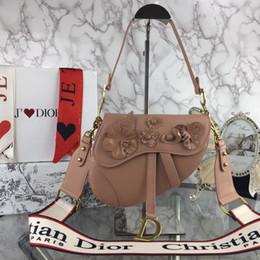 bolsa de ombro rosa forma Desconto Clássico de alta qualidade do desenhador das mulheres bolsa selvagem cruz bolsa de ombro novo saco de alta qualidade D98948 senhoras vento natural saco do presente diagonal