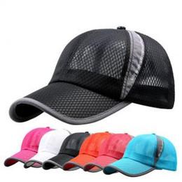 Verano de secado rápido de malla gorras de béisbol de protección solar al  aire libre Casquette deportes ocasionales Chapeu carta Sun Hat LJJP162  sombrero ... 9318e4ee8b8