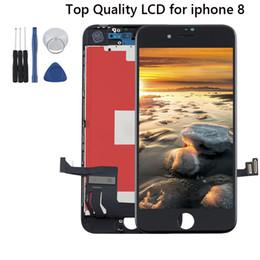 telaio nexus Sconti Top Quality Test iPhone grado per il display a cristalli liquidi 8 3D dello schermo di tocco digitalizzatore sostituzione Assembly Protector Con Strumenti