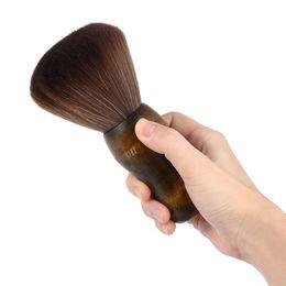 Вырез волос на лице онлайн-Щетка для бороды Шея для волос Щетка для волос Салон для чистой стрижки волос Парикмахерская Расческа Мягкие щетки для лица
