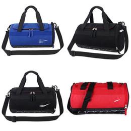 Tambores azules online-Hombre y mujeres marca gimnasio bolsa de entrenamiento de yoga natación viajes un bolso de hombro rojo azul negro paquete de tambor simple 38xnD1