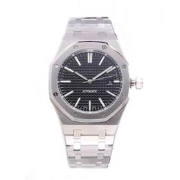 Argentina CALIENTE relojes de lujo para hombre 42mm correa de acero inoxidable completa Reloj mecánico negocio luminoso reloj de zafiro reloj de lujo 5ATM impermeable Suministro