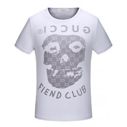 2019 gente libre bolsas 2018 Diseñador de Lujo Camisetas Para Hombre # 1714 Moda de Verano Tide Carta de Alta Calidad de Impresión de la Cara Casual Hombres Camiseta Tops Tees