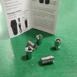 In vendita Yocan UNI Yocan Handy Adapter Magnetic Rings Adattatore Connettore magnetico per Yocan UNI Handy Box Mod Battery da spazzole di pulizia dei tipi fornitori