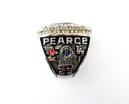 Date Championnat Bague bijoux 2018 Boston Red Sox Championnat Du Monde MVP Anneau Fan Cadeau Souvenir en gros Haute Quanlity ? partir de fabricateur