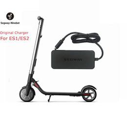 cargadores hoverboard Rebajas Original Ninebot Cargador Kits para Kickscooter ES1 ES2 42V 71W Enchufe Fuente de alimentación de batería para scooter eléctrico Hoverboard