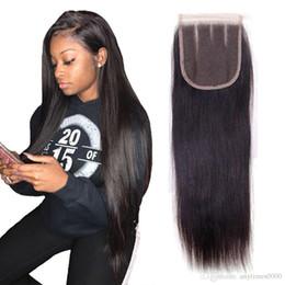 бразильский прямые волосы закрытие девственные человеческие волосы кружева закрытие естественный цвет перуанский кружева закрытие 8-20 дюймов бесплатная доставка 4*4 дюйма от
