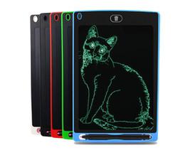 2019 luce della lavagna Cheapest! 8.5 pollici LCD Writing Tablet pad di scrittura Bambini Tavolo da disegno Doodle Pads Tavoletta grafica elettronica da disegno