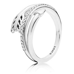 new original products Coupons - 2019 NEW 100% 925 Sterling Silver Valentine's Day Sparkling Arrow Ring Product Original Fashion Jewelry Gift