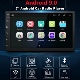 "hyundai tucson dvd spieler Rabatt 7 ""Radio Android 9.0 2 Din Wifi Auto Multimedia GPS Doppel Din 2G RAM Autoradio Stereo Bluetooth 2Din MP5 Player 47 Auto DVD"