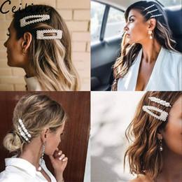 süßigkeiten haarspangen Rabatt Mode Frauen Mädchen Elegante Perle Haarspangen Süße Kopfbedeckung Haar Korean Design Haarnadeln Haarspangen Stirnband Haarschmuck