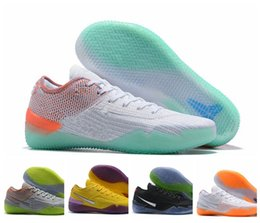 official photos bc158 bbee4 2019 KOBE 360 AD NXT Shoe Yellow Orange Strike Derozan Basketball Shoes  High Quality Mens Trainers Wolf Grey Purple Sneakers Size 40-46