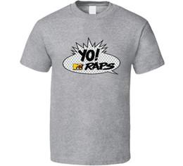 Yo Mtv klopft Weinlese-Pop-Art-Blasen-Retro- Fan-T-Shirt der Weinlese 80s Lustiges freies Verschiffen Unisexlässige Spitze von Fabrikanten