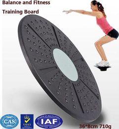 2019 twisterteller Wholesale-Twist Board Balance Board Trainer zum Abnehmen Gesundheit Taille Twisting Disc Twister Spielmatte zappelnde runde Platte 36 * 8cm günstig twisterteller