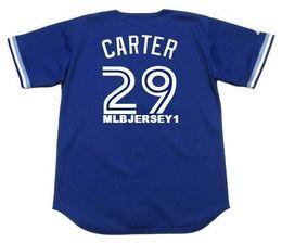 42b6f593a Cheap Custom JOE CARTER Toronto Stitched 1994 Top Sewing Vintage Baseball  Jersey Retro Mens Jerseys
