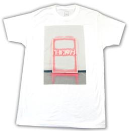 Bandes de signe au néon en Ligne-The 1975 Neon Sign Spring Tour 2016 Blanc T Shirt Nouveau groupe officiel MerchFunny livraison gratuite Unisexe Casual Tshirt top