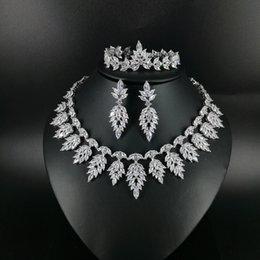 ensemble de bijoux design papillon Promotion 2019 NEW FASHION luxe vintage cristal CZ zircon collier boucle d'oreille bracelet bague de mariage banquet de mariée dressing ensemble de bijoux