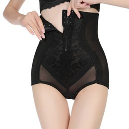 5760675850e5 N Plus Size 5XL Women High Waist Slimming Control Panties Abdomen Belly  Shaper Tummy Trimmer Butt Lifter With Zipper