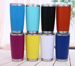 Yeni 600 ml Stianless çelik Yalıtımlı Seyahat Kupa Su Şişesi Bira Kahve Kupalar Araba Kupaları için Kapaklı Kahve Fincanı Drinkware yeterli tedarik supplier car eu nereden araba eu tedarikçiler