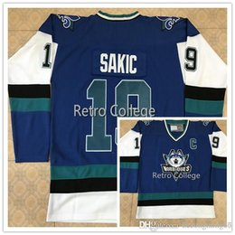 Quebec Nordiques  19 Joe Sakic  21 PETER FORSBERG White bule Hockey Jersey  Stitched Customized Any Name And Number Jerseys quebec nordiques hockey  jersey on ... edf31f426
