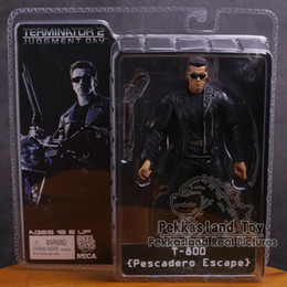 "Brinquedos terminadores on-line-NECA O Terminator 2 T-800 T-1000 Endoskeleton PVC Action Figure Collectible Toy 7 ""18cm"